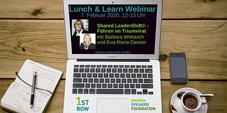 "Webinar ""Shared LeaderShift© - Führen im Triumvirat"" Tickets"