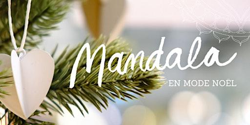 20 décembre - Mandala en mode Noël
