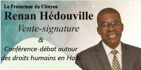 L'évolution des droits humains en Haïti  Conférence-Débat tickets