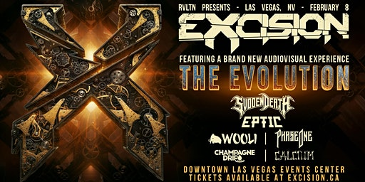 RVLTN Presents: EXCISION — The Evolution (18+)