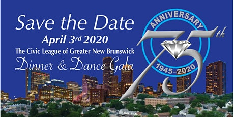 Civic League of Greater New Brunswick's 75th Anniversary Gala tickets