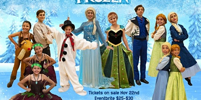 """Frozen Jr."" Cast 2 - Sunday 12th at 4:00 pm"