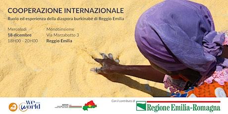 Ruolo ed esperienza della diaspora burkinabè di Reggio Emilia biglietti