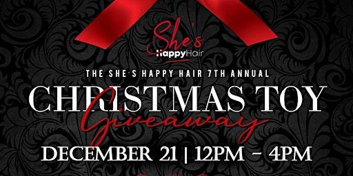She's Happy | HOUSTON | Christmas Toy & Bike Giveaway and Pics w/ CHOCOLATE SANTA