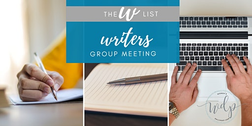 WDP Writer's Group Meetings