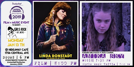 Listen Up Film Series & Girls Rock St Pete   Linda Ronstadt Documentary tickets