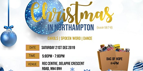Christmas in Northampton tickets