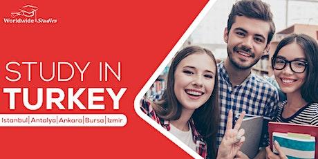 Étudier à l'étranger en Turquie billets
