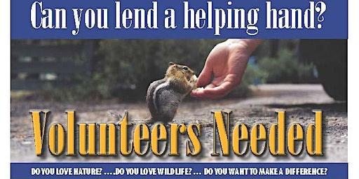 Volunteer Orientation Antler Rdige Wildlife Sanctuary