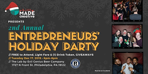 2nd Annual Entrepreneurs' Holiday Party