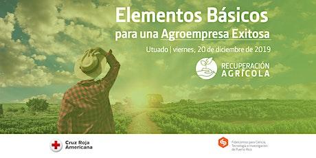 TALLER: Agro empresarismo boletos
