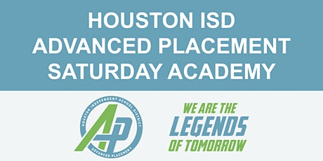 HISD AP Saturday Countdown Academy #3 (March. 7) tickets