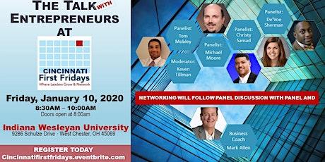 Cincinnati First Fridays - The Talk with Entrepreneurs tickets
