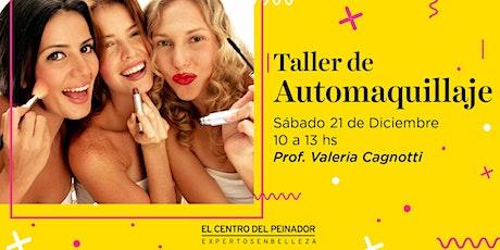 Taller  de Automaquillaje con Valeria Cagnotti entradas