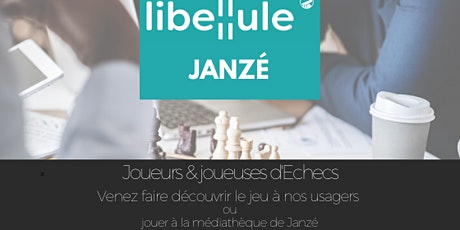 Jouer aux échecs à la Médiathèque de Janzé billets