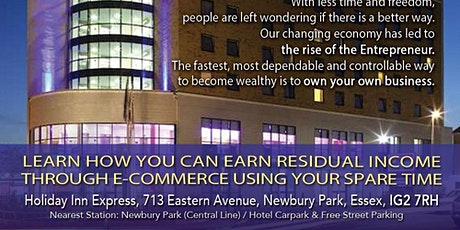 Learn how you can EARN RESIDUAL INCOME tickets