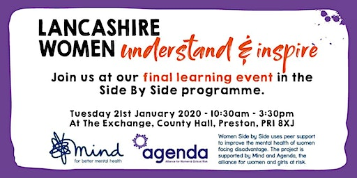 Lancashire Women Side By Side 4th Learning Event