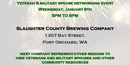 January Military, Veteran, Spouse, and Community Networking Event