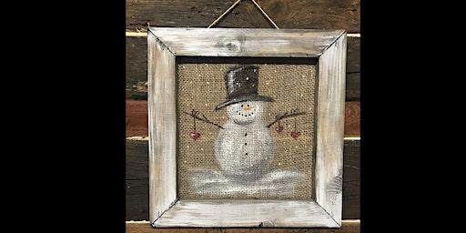 Winter Snowman Decor