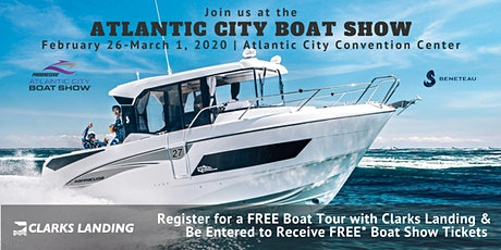 Register for a FREE BENETEAU Boat Tour at the Atlantic City Boat Show tickets