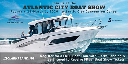 Register for a FREE BENETEAU Boat Tour at the Atlantic City Boat Show