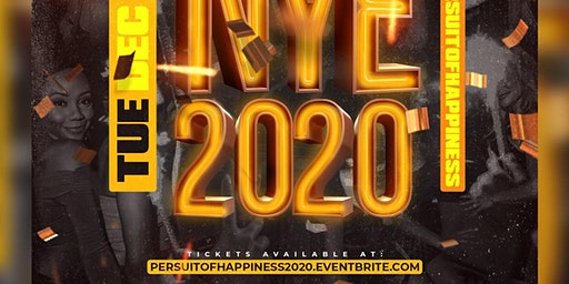 #PersuitofHappiness NYE 2020 @ Levels in Uptown
