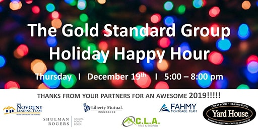 The Gold Standard Group - Holiday Happy Hour