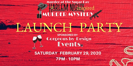 Harlem Nights Murder Mystery LAUNCH PARTY tickets
