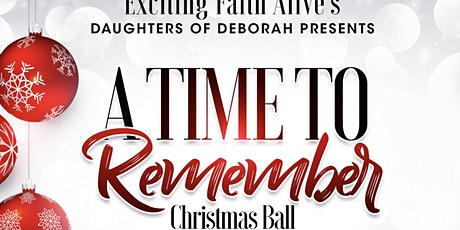 """A Time to Remember"" Christmas Ball tickets"