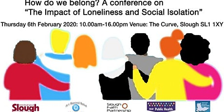 "How do we belong?  ""The impact of Loneliness and Social Isolation"" tickets"