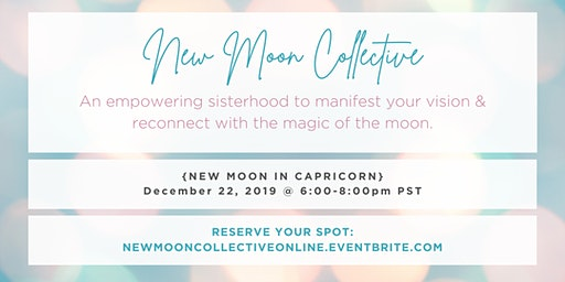 New Moon Collective Online {Capricorn}