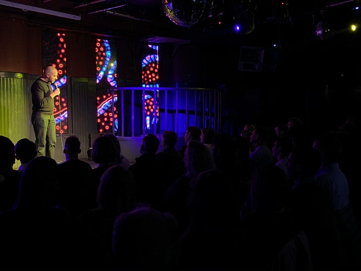 Saturday Night Comedy in Brixton image
