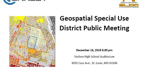 Project Connect Geospatial Special Use District Public Meeting tickets
