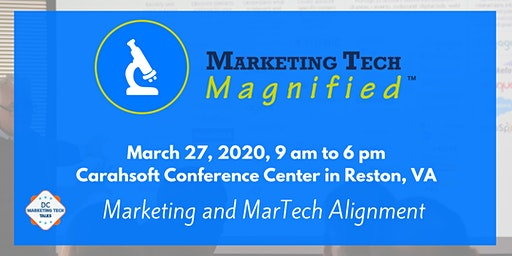 Marketing Tech Magnified 2020