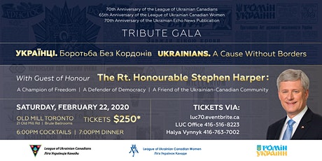 Ukrainians. A Cause Without Borders - Tribute Gala tickets