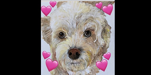 Valentine Paint YOUR pet you LOVE at Springfield Manor