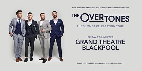 The Overtones (Blackpool, The Grand) tickets