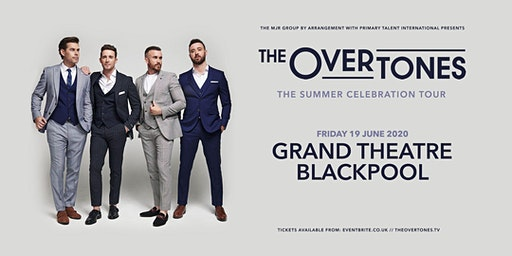 The Overtones (Blackpool, The Grand)