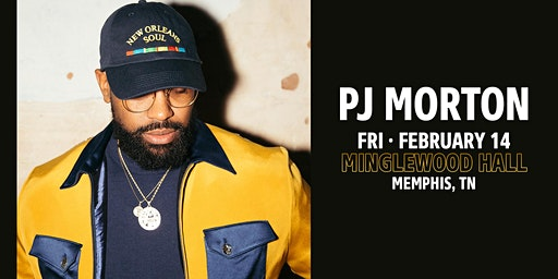 PJ MORTON at Minglewood Hall