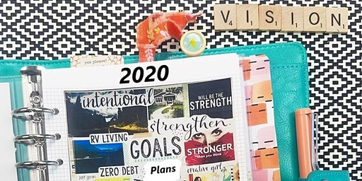 2020 Vision Board Gathering:  Write til its Right!