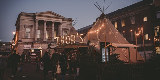 New Years Eve Party, THOR's tipi bar, Lincoln