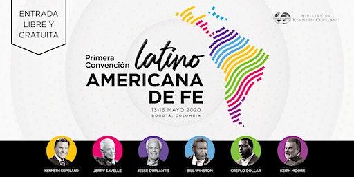 1ª CONVENCIÓN LATINOAMERICANA DE FE - BOGOTA, COLOMBIA 2020