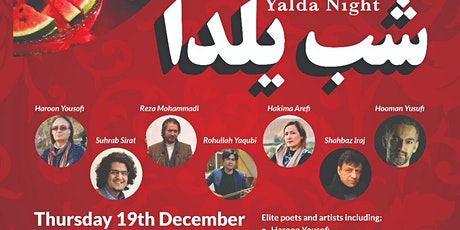 Celebrating Shab-e-Yalda with Poetry and Live Music tickets