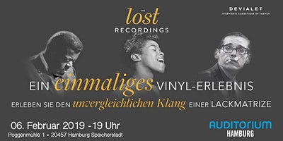 THE lost RECORDINGS im AUDITORIUM Hamburg