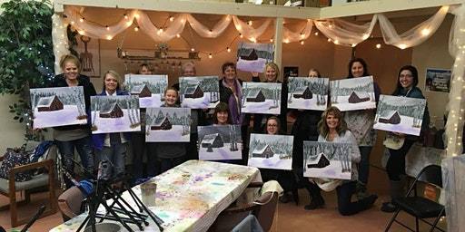 Schedule a Private Party! You choose the painting!