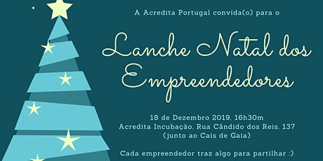 Lanche de Natal dos Empreendedores bilhetes