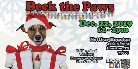 Deck the Paws! A Chairty Pawliday Pawty Benefiting SNAP Clinic tickets
