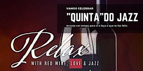 """12/12 (quinta-feira) """"Quinta do Jazz"""" no Wine Bar do CW&Co  ingressos"""