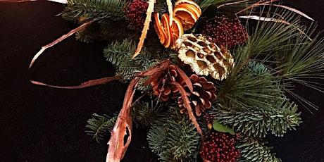 Festive Floral Centrepiece or Wreath Workshop tickets