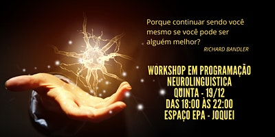 Workshop de Programação Neurolinguistica